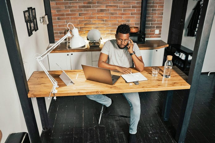Working from home. Picture: Pexels Photos