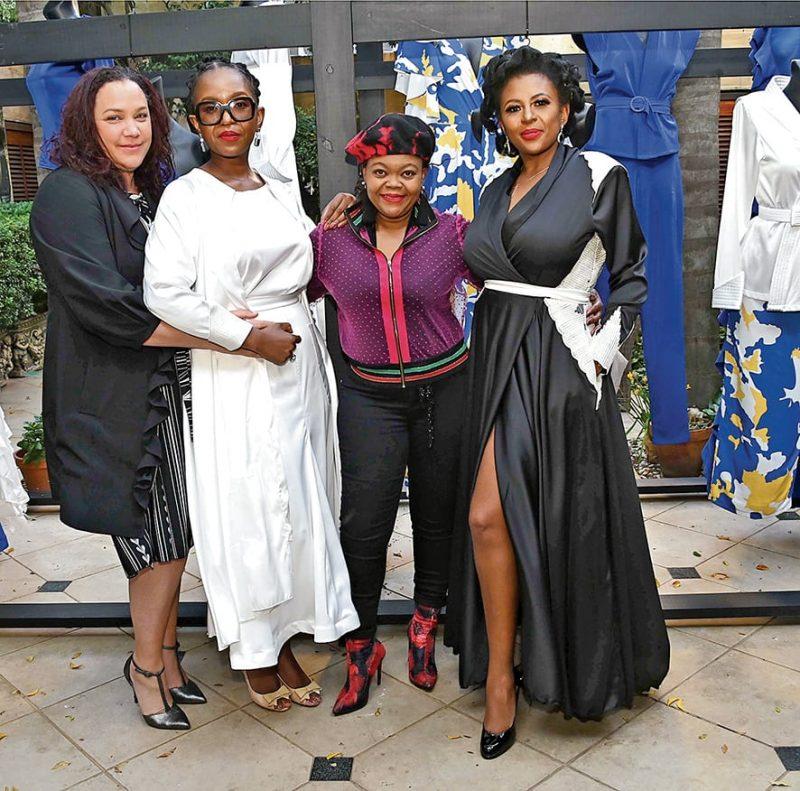Melanie Ramjee, Hlangwani Nengovhela, Happy Ngidi and Bassie Kumalo