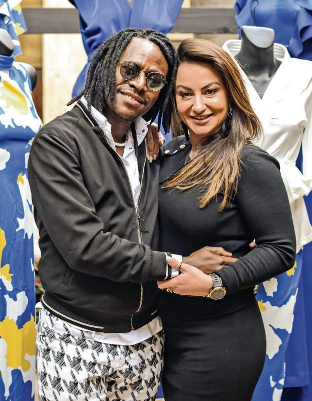 Paledi Segapo and Melina
