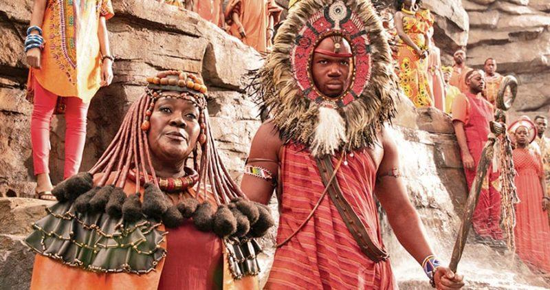 Marvel Studios' BLACK PANTHER<br /> Mining Tribe Elder (Connie Chiume)<br /> Ph: Film Frame