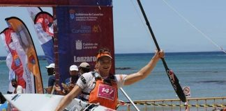 University of Cape Town (UCT) master's student Nicholas Notten won the Canoe Ocean Racing World Championships. Image: Supplied.