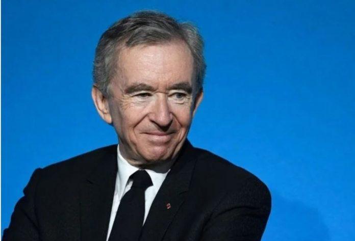 Bernard Arnault, Chairman and CEO of LVMH Moët Hennessy. Image: @RiyaThalapathy2