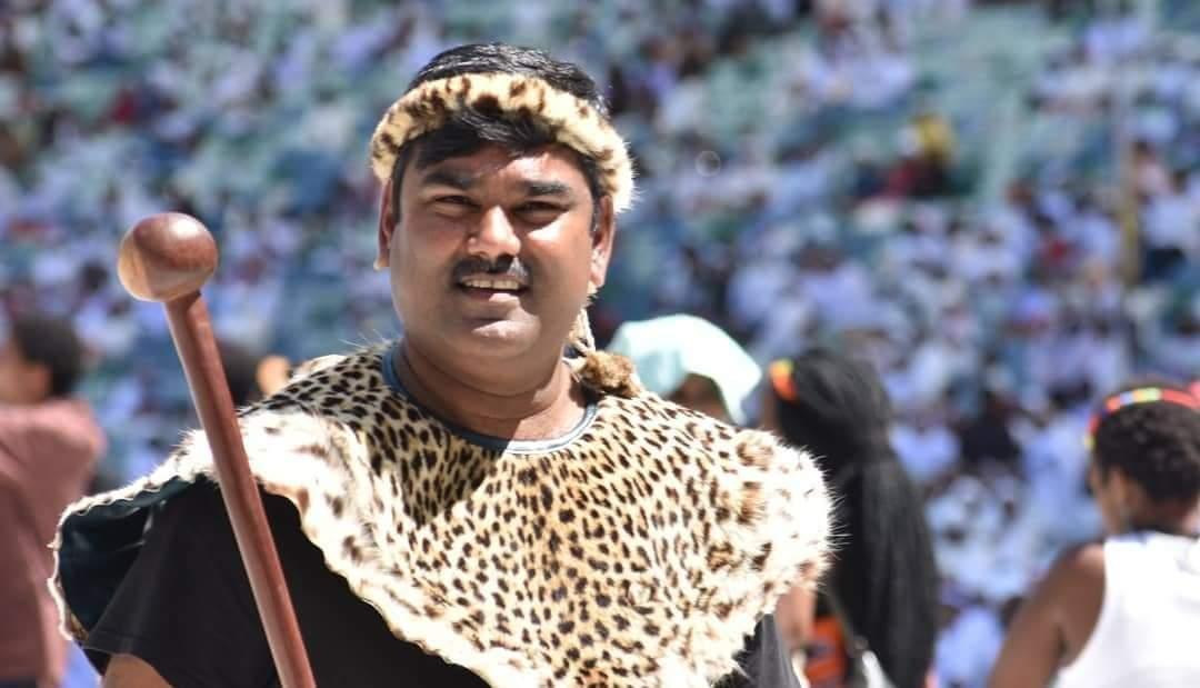 Late AmaZulu king's ally Ishwar Ramlutchman. Image: Facebook.