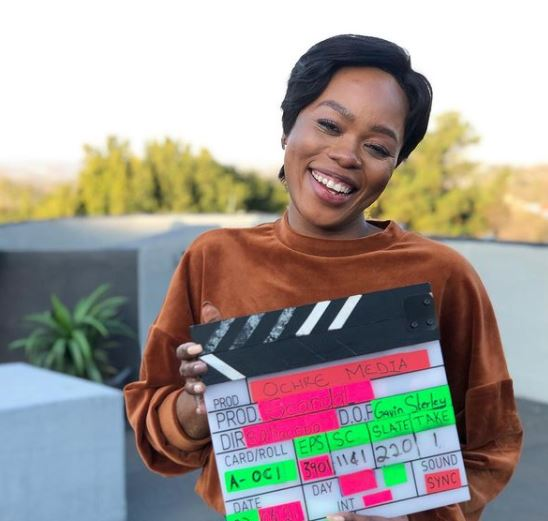 Sivenathi Mabuya who plays the role of Xolile Langa is one of the latest actresses to leave Scandal!. Image: Instagram.